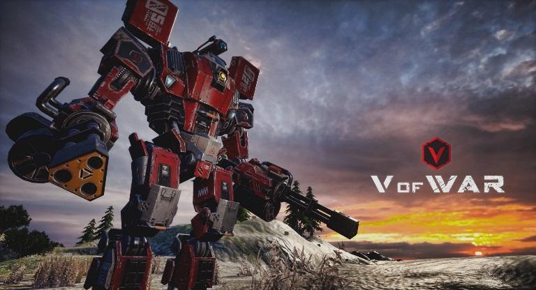 [EXCLUSIVO] Robôs gigantes e humanos vão se enfrentar no FPS 'V ofWar'