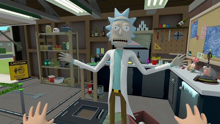 'Rick and Morty' é apontado como o título VR mais esperado de 2018