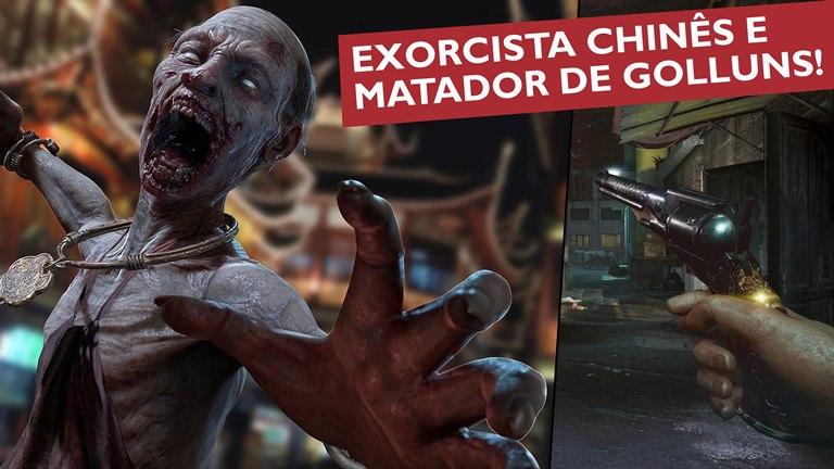 [vídeo] 'The Walker' te transforma em um exorcista chinês armado de revólver eespada!