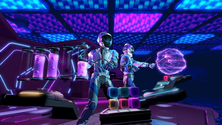 Com mais de 40 músicas, 'Electronauts' chega ao PSVR na próximaterça-feira