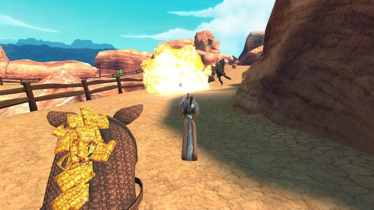 Jogo mais zoeiro do Velho Oeste chega ao Playstation VR na próximaterça-feira