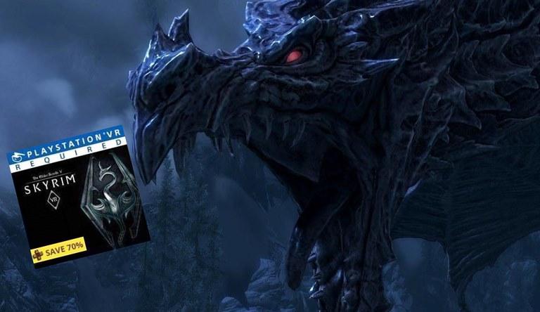 'Skyrim VR' está sendo vendido com 70% de desconto no Reino Unido. Saiba comoaproveitar!