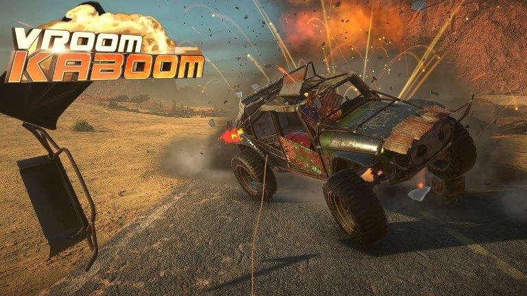 Game gratuito 'VRoom Kaboom' será lançado dia 14 de agosto para PSVR ePCVRs