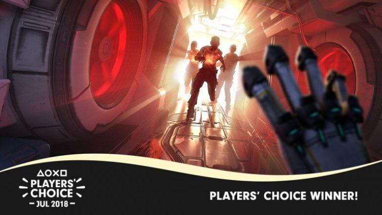 'The Persistence' é escolhido pelos próprios jogadores o melhor game de julho noPS4