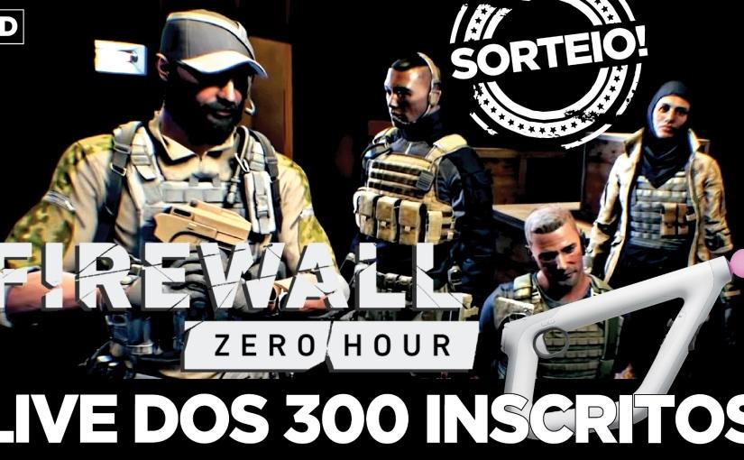 Inscreva-se no canal PSVR Brasil e concorra a uma mídia digital de 'Firewall ZeroHour'