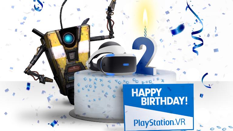 Sony comemora 2 anos do PSVR com mega-promoção, anúncio de 'Borderlands 2 VR' e muitomais!
